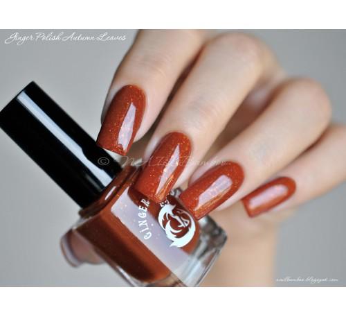 Ginger Polish Autumn Leaves