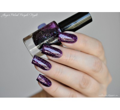 Ginger Polish Purple Night