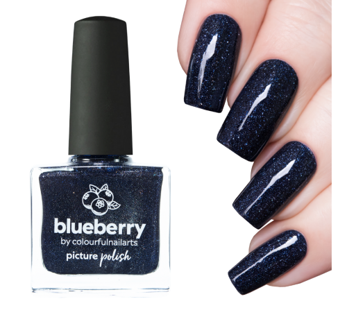 Picture Polish Blueberry
