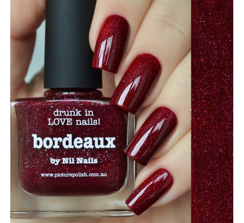 Picture Polish Bordeaux