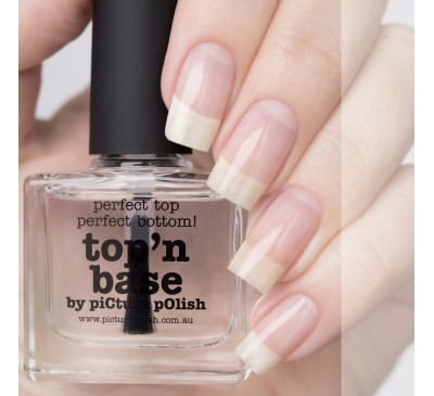 Топовое и базовое покрытие Picture Polish Top'n base